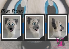 Pluis Poes - head turn around by FurryFursuitMaker