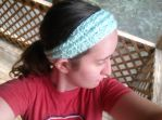 Coiled headband by Shankler