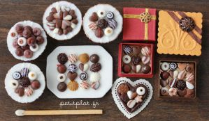 Chocolate and Pralines - 1 by PetitPlat