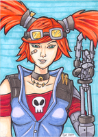 Gaige ACEO final by JusticeDude