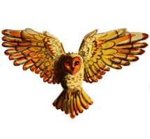 Fire Owl by Pinrescent