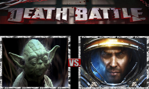Yoda vs. James Raynor by ScarecrowsMainFan