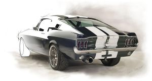 Ford Mustang by FabioFrancisco