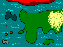 Game World Map WIP by nicksnack