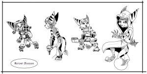 Ratchet Doodles by Gashu-Monsata