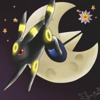 Umbreon by Shadowfoxmoon