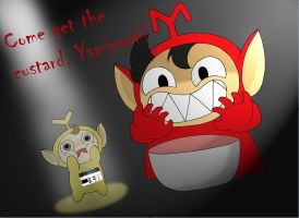 Slendytubbies with Mark and Yamimash by SilverSapphire495