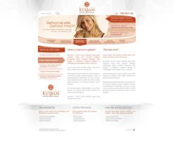 Dentist and beauty website by chohol