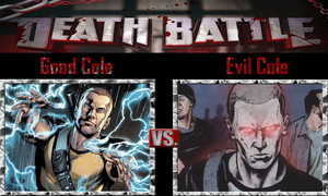 Good Cole vs Evil Cole by SonicPal