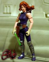 Mara Jade Skywalker by jvcustoms