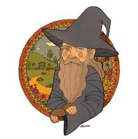 Gandalf by Oochami