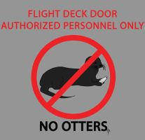 No Otters by skeletree