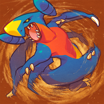 Garchomp by pockyy