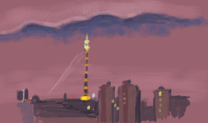 Moscow TV tower by neveka