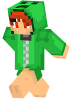 Minecraft Skin - Creeper-tan by iKeychain