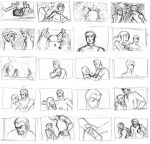 Rough Storyboarding 1 by pure-forest