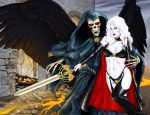 Lady Death 15 Wraparound Cover by MDiPascale