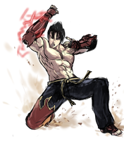 Jin Uppercut by Frost7