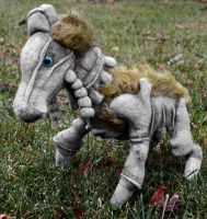 Colossus Horsey by Couch-stuffs