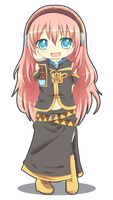 VOCALOID : Luka chibi by Pluvias