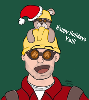 TF2-Holiday Greetings by Starath