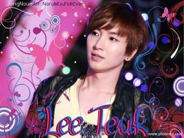 Floral Lee Teuk by JangNoue