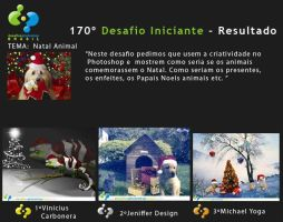 3RD Place - 170 Iniciant Challenge by michaeldesigner15
