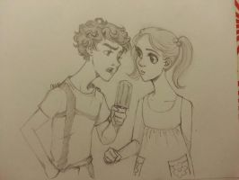 30DOTP-Sherlolly-Day13-Eating Icecream by lexieken