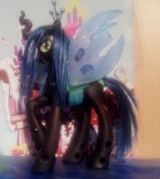 Queen Chrysalis - Brushable by CelestPapermoon
