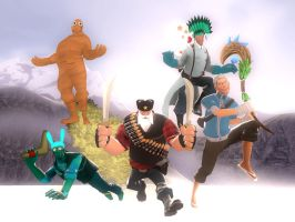 GMod: Rise of the Classes by Coonfoot