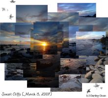 Sunset Cliffs Collage by azndlish