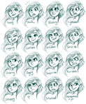 Vera Expressions by sharkie19