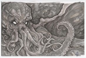 Cthulhu by ChrisOzFulton