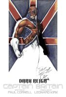 Captain Britain Colour by NineteenPSG
