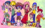 Digimon Adventure: Chibi Form by tamayouchi