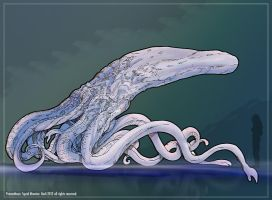 Prometheus: Squid Monster_Spoiler by Dezarath