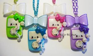Kawaii Ipod Necklaces by Bojo-Bijoux