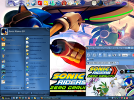 My Sonic Riders ZG Theme by silverblade989
