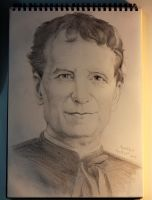 Our father Don Bosco by Narzissus