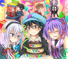 Happy Birthday Otouto! by hayayon