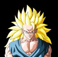 Full-Power SSj3 Goku :H+S: by moxie2D