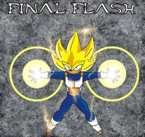 Shadow Final Flash by o0Vegeta0o