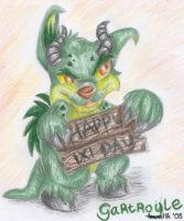 Gartroyle and ixi day sign by sbslink