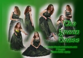 Green Dress Pack 1 by lindowyn-stock