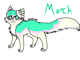 March-New OC by SoulCats