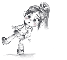Vanellope - Outta Time! by artistsncoffeeshops