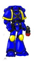 Space Marine attempt 1 Ultra by Charybdis0