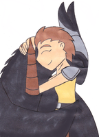 HTTYD:Dragon Hug by charlotte199056