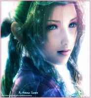 Aerith With alot of Colours by areemus