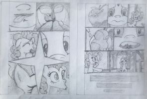 MLP - Clean Up on Smile Five - PG 3-4 (Predrawing) by Nayolfa
